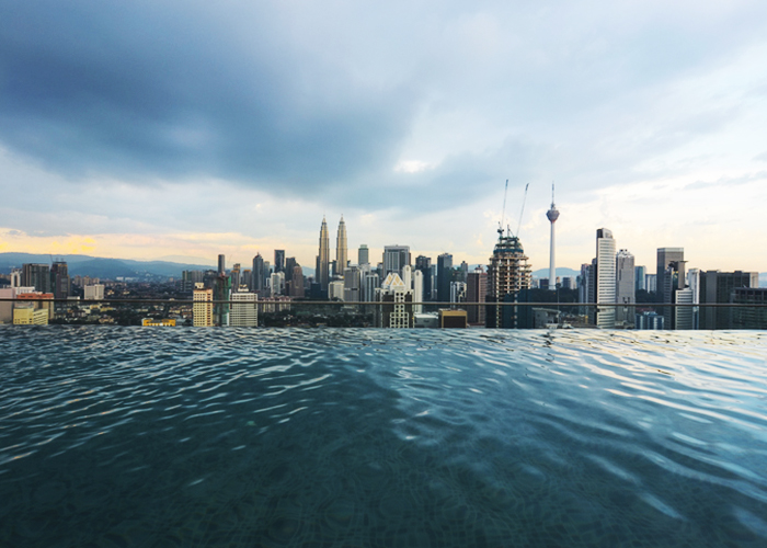 The best infinity pools in Kuala Lumpur