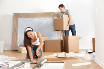 How to keep fit during your move into a new home