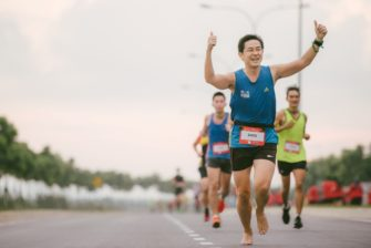 The fun run in Bandar Rimbayu